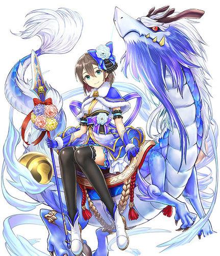 【白猫プロジェクト】シズクドラゴンライダー【クリスマスガチャ】