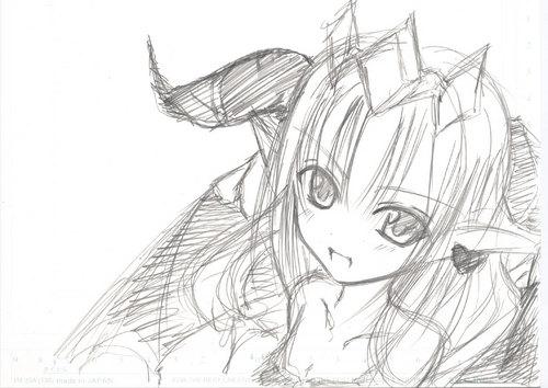 【パズドラ】リリスを描き直してみた!